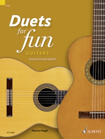 Duets for fun for Guitars published by Schott