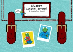 Chester's Easy-Peasy Theory Set 1 by Barratt