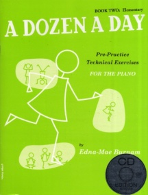 Dozen a Day Book 2 (Elementary) Book & CD for Piano published by Willis Music