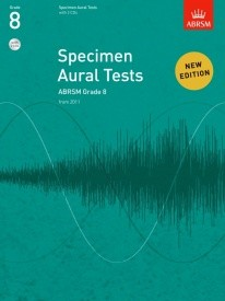 Specimen Aural Tests Grade 8 With CD published by ABRSM