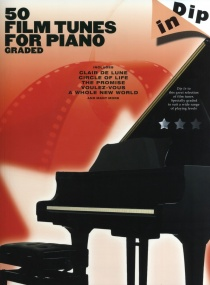 Dip In: 50 Graded Film Tunes for Piano published by Wise
