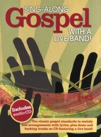 Sing-Along Gospel With A Live Band Book & CD published by Wise