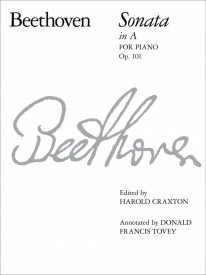 Beethoven: Sonata in A Opus 101 for Piano published by ABRSM