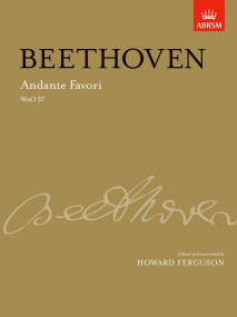 Beethoven: Andante Favori WOO57  for Piano published by ABRSM