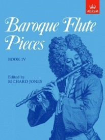 Baroque Flute Pieces Book 4 published by ABRSM