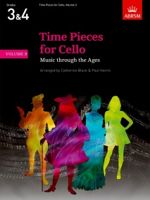 Time Pieces for Cello Volume 3 published by ABRSM