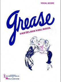 Grease - Vocal Score published by Hal Leonard