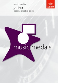 ABRSM Music Medals: Guitar Options Practice Book