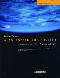 Also sprach Zarathustra (Opening Theme) for Flexible Ensemble published by Peters