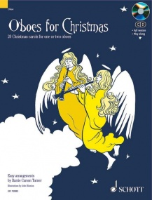 Oboes for Christmas Book & CD published by Schott