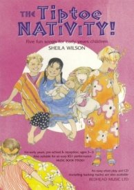 Tiptoe Nativity! (Music Book) published by Redhead
