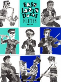 Rae: Easy Jazzy Duets Flute published by Universal Edition