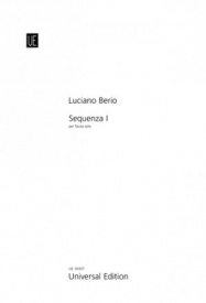 Berio: Sequenza I for Solo Flute published by Universal