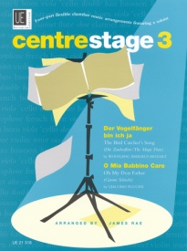 Centre Stage four part flexible chamber music Vol  3  published by Universal Edition