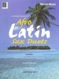 Afro-Latin Saxophone Duets published by Universal