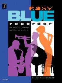 Easy Blue Recorder for Descant Recorder published by Universal Edition