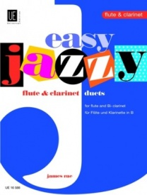 Rae: Easy Jazzy Flute and Clarinet Duets published by Universal Edition