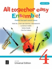 All Together – Easy Ensemble Volume 4 published by Universal