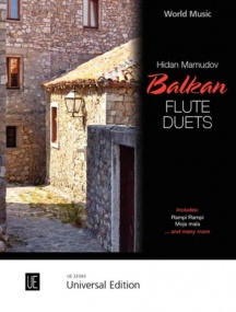 Balkan Flute Duets published by Universal