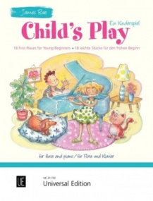 Rae: Child's Play for Flute published by Universal