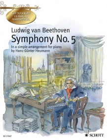 Beethoven: Symphony No. 5 C minor Opus 67 for Easy Piano published by Schott