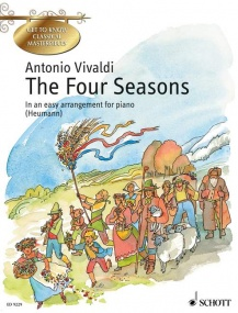 Vivaldi: The Four Seasons for Easy Piano published by Schott