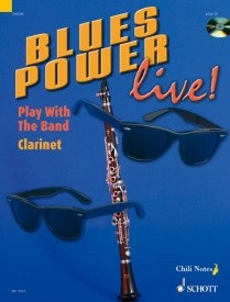Blues Power live! by Dechert Book & CD for Clarinet published by Schott