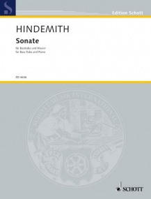 Hindemith: Sonata for Tuba published by Schott