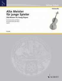 Old Masters for Young Players for Cello published by Schott and Co
