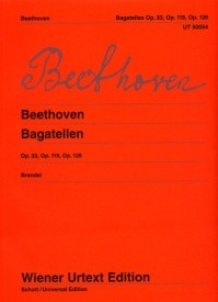 Beethoven: Bagatelles for Piano published by Wiener Urtext