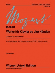 Mozart: Works for Piano Duet Published by Wiener Urtext