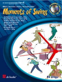 Moments of Swing for Mallet Book & CD by Elings published by De Haske