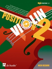 Dezaire: Position 2 for Violin published by De haske