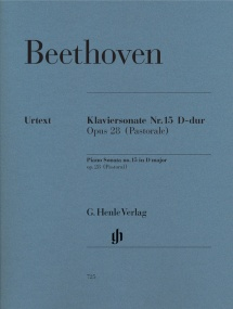 Beethoven: Sonata in D Opus 28 (Pastorale) for Piano published by Henle