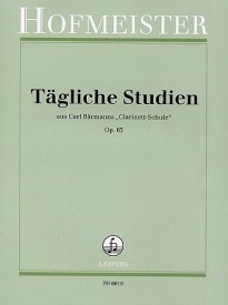 Baermann: Daily Studies Opus 63 for Clarinet published by Hofmeister