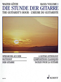 An Hour with the Guitar Volume 1 published by Schott