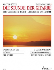 An Hour with the Guitar Volume 3 published by Schott