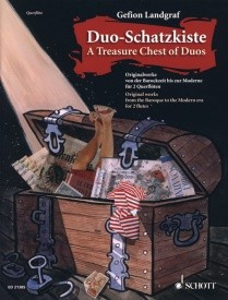 A Treasure Chest of Duos for Flute published by Schott