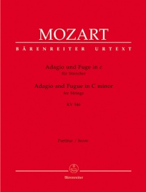 Mozart: Adagio and Fugue in C minor (K.546) for String Quintet published by Barenreiter