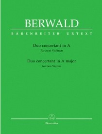 Berwald: Duo Concertant in A published by Barenreiter