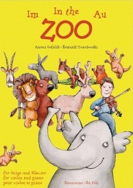 At the Zoo - 15 easy pieces for beginners (Violin & Piano) published by Barenreiter