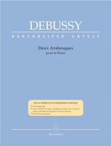 Debussy: Deux Arabesques for Piano published by Barenreiter