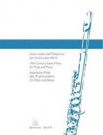 19th Century Italian Music for Flute and Piano published by Barenreiter