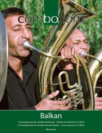 Combocom - Music for Flexible Ensemble - Balkan published by Barenreiter