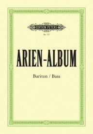 Aria Album for Baritone & Bass published by Peters