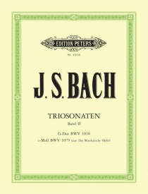 Bach: Trio Sonatas Volume 2 published by Peters