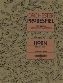 Test Pieces for Orchestral Auditions for Horn published by Peters