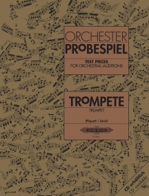 Test Pieces for Orchestral Auditions for Trumpet published by Peters Edition