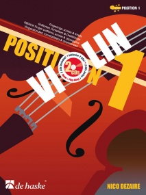 Dezaire: Position 1 for Violin published by De haske