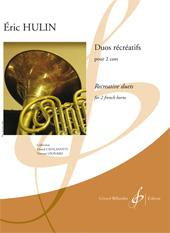 Hulin: Duos récréatifs for 2 French Horns published by Billaudot